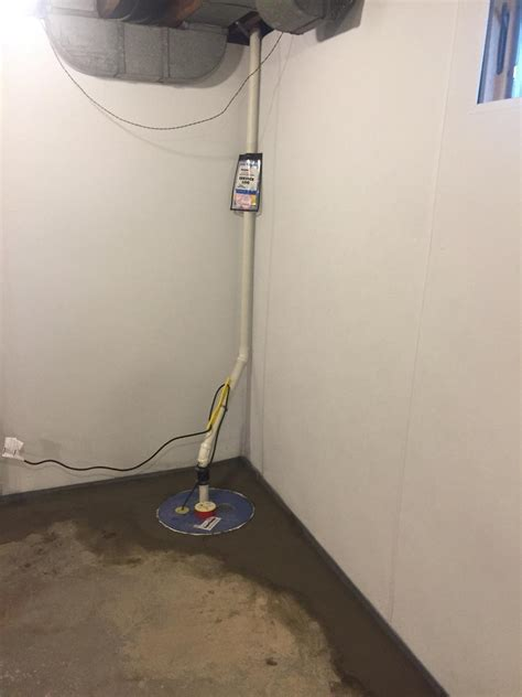 sump basement sump