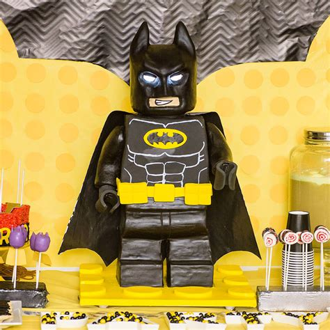 Crochet Decorations by How To Make A Standing Lego Batman Cake Ashlee Marie