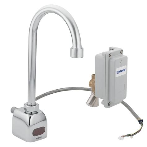 electronic kitchen faucet moen 8304 chrome electronic single bathroom faucet from the m power collection valve