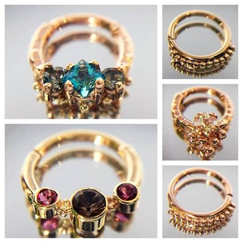 how to make septum jewelry 1000 ideas about septum ring on septum