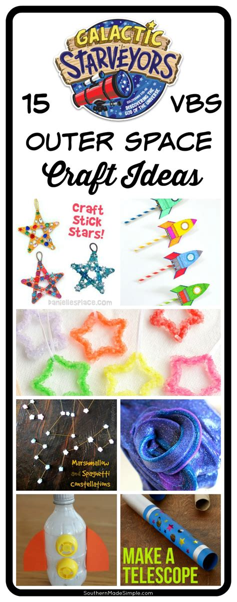 outer space crafts for outer space craft ideas galactic starveyors vbs theme