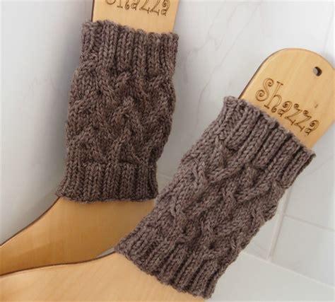 knitted boot cuffs knit boot cuffs legwarmers shazzas knits madeit au