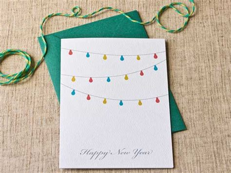 make your own happy new year card 50 creative new year card designs for inspiration jayce