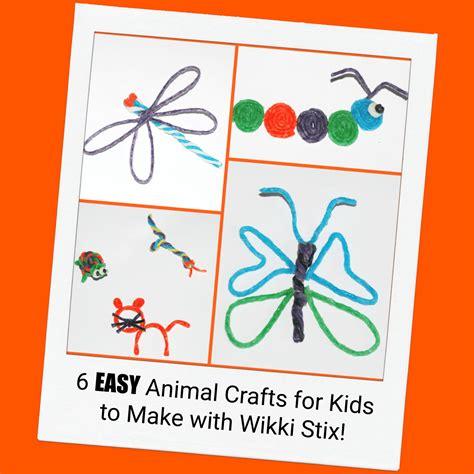 easy animal crafts for easy animal crafts for to create with wikki stix