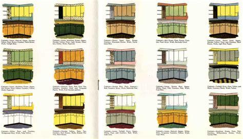 kitchen cabinets color schemes retro kitchen paint color schemes from 1953 retro renovation