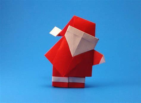 santa hat origami origami and santa claus 12 gilad s origami page