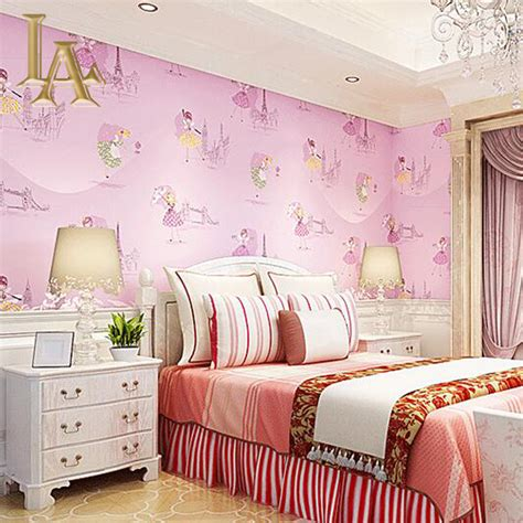 pink wallpaper for bedroom aliexpress buy yellow purple blue pink