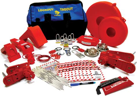 kits for lockout safety valve lockout kit large