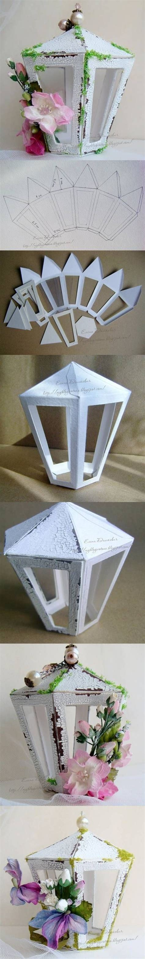 paper lantern craft template diy cardboard lantern template diy projects usefuldiy