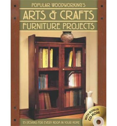 arts and crafts woodworking popular woodworking s arts and crafts furniture projects