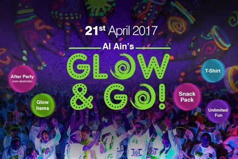 glow in the paint abu dhabi al ain s glow go sports event in abu dhabi abu