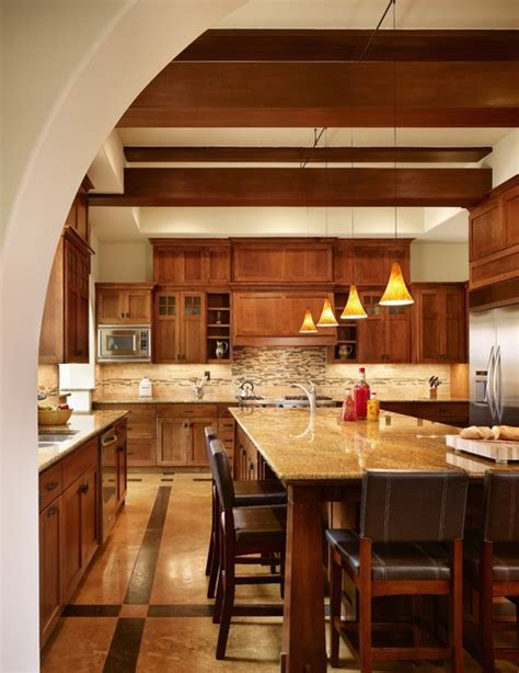 mission style kitchen island 25 ways to remodel your craftsman style kitchen