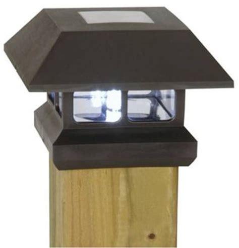 moonray solar lights moonrays solar powered fence post light envirogadget
