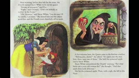 snow white story book with pictures snow white and the seven dwarfs disney golden