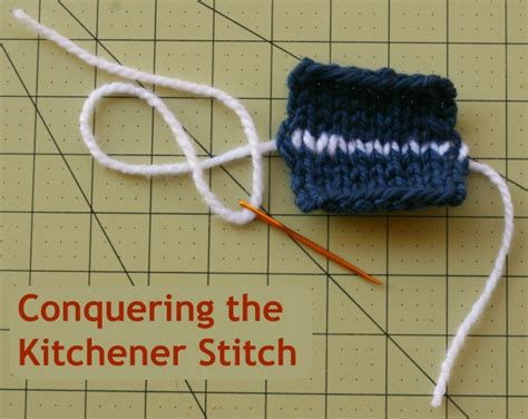 how to do kitchener stitch in knitting conquering the kitchener stitch roving crafters