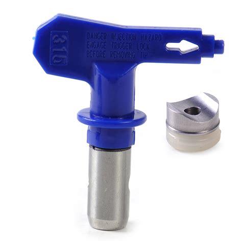 spray painting nozzle sizes airless spray tip nozzle gun paint sprayer 313 315 415