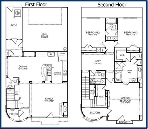 2 story floor plans the parkway luxury condominiums