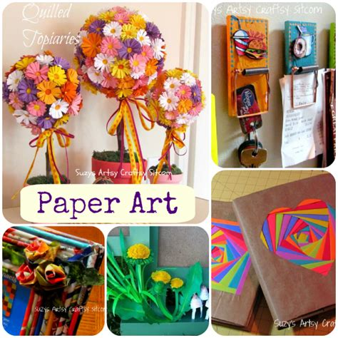 how to make arts and crafts out of paper five paper tutorials from the sitcom