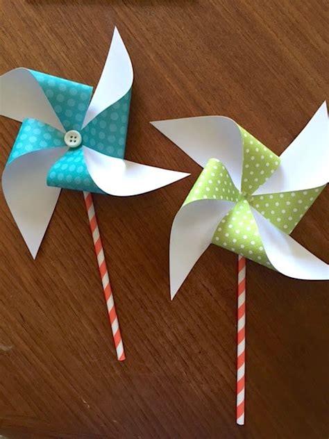pinwheel paper craft sew many ways how to make paper pinwheels