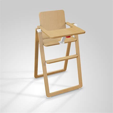 chaise haute supaflat naturel