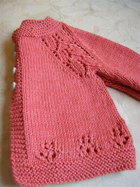 one cardigan knitting pattern knit baby sweater pattern one sweater jacket