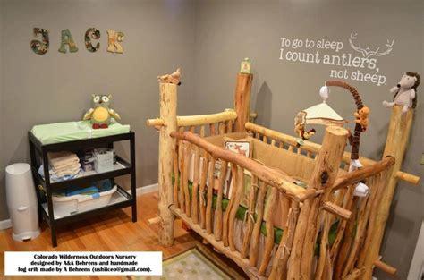 log baby cribs log baby crib for my future babies