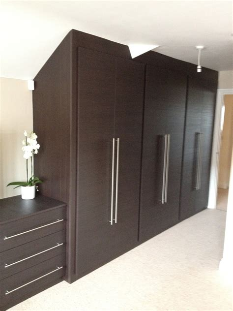 designer fitted bedrooms luxury loft bedrooms angled fitted wardrobes