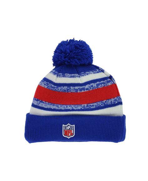 buffalo bills knit hat ktz buffalo bills sport knit hat in blue for lyst