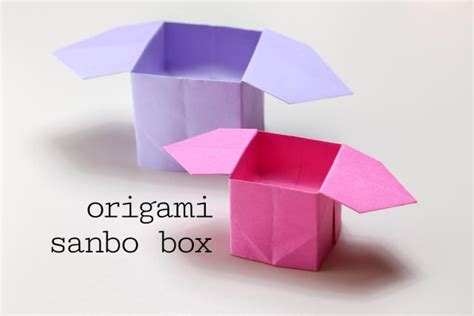 how to fold an origami box papercraftsquare new paper craft how to fold an