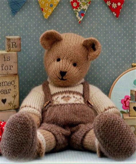 teddy knitting pattern teddy knitting pattern things to make