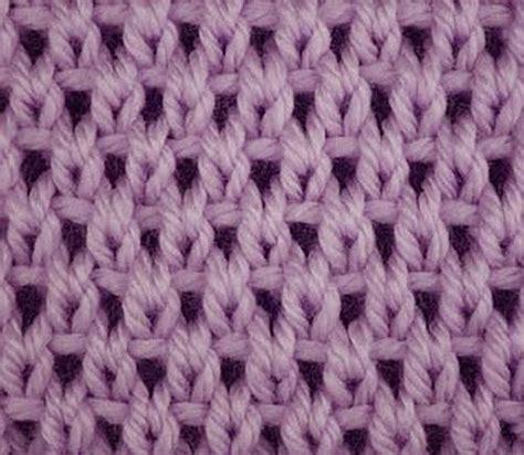 Knitting Galore Saturday Stitch Eyelet Moss Stitch