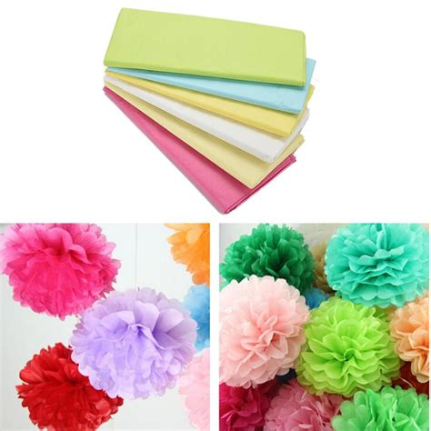 craft paper wrapping 20pcs pack tissue paper wrapping paper gift packing craft