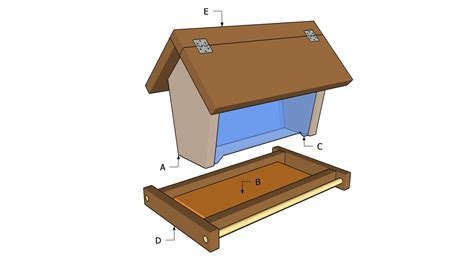 Pictures Of Bird Feeder Woodworking Plans