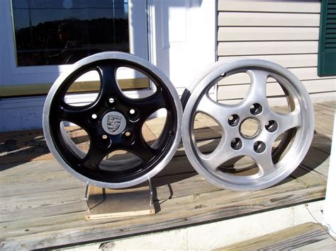 spray paint your rims black wheel painting pelican parts technical bbs