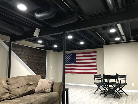 25 best ideas about basement ceiling painted on