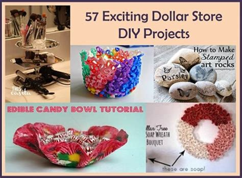 dollar store craft projects recipes projects more 57 exciting dollar store diy