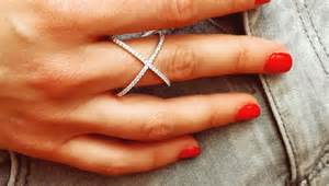 ring x pave x rings pave cross rings x rings 171 shefinds