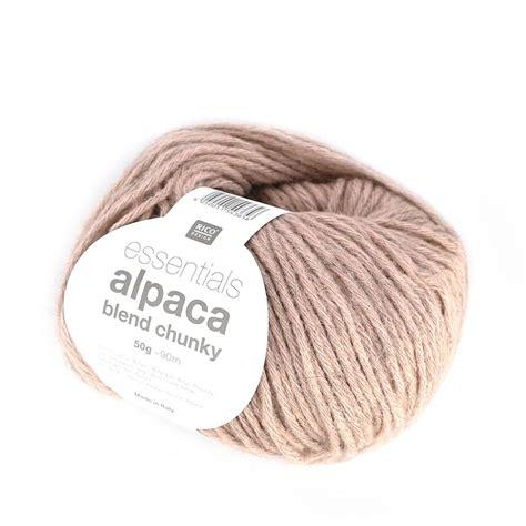 knitting essentials wool wool essentials alpaca blend chunky antique pink x 50g