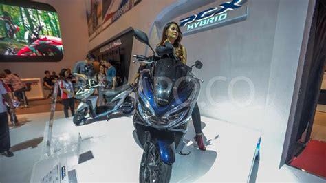 Pcx 2018 Iims by Ahm Perkenalkan All New Honda Pcx Hybrid Di Iims 2018
