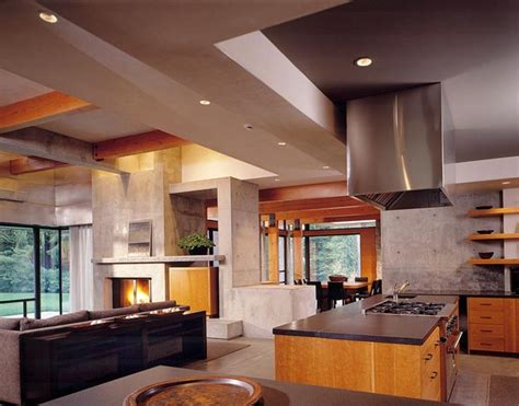 www modern home interior design home design interior northwest contemporary house design ideas woodway residence