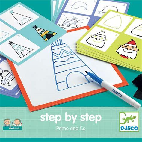 by step apprendre a dessiner tipi et igloo djeco step by step primo