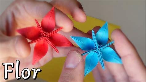 flor origami flor estrella fant 225 stica de papel origami