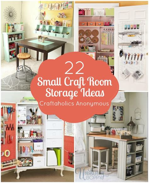 space craft ideas for craftaholics anonymous 174 small craft room storage ideas