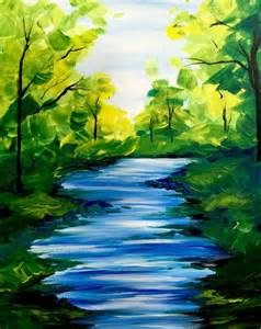 acrylic painting scenery 17 best ideas about scenery paintings on sky