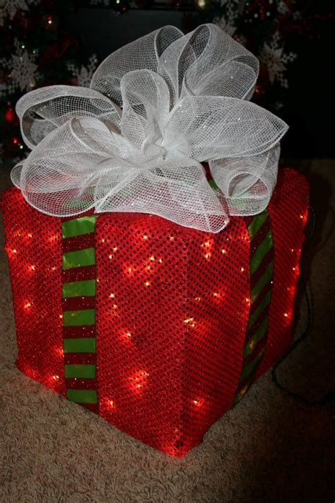 box of decorations how to make a lighted box decoration trendy