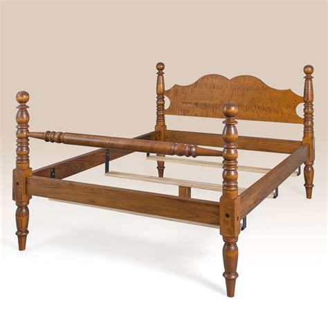 cannonball bedroom furniture sets tiger maple wood cannonball bed size frame