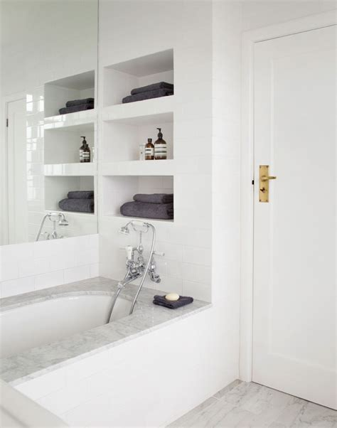 recessed shelves in bathroom 10 great design ideas for small bathrooms