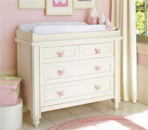 changing dresser table dresser changing table topper pottery barn