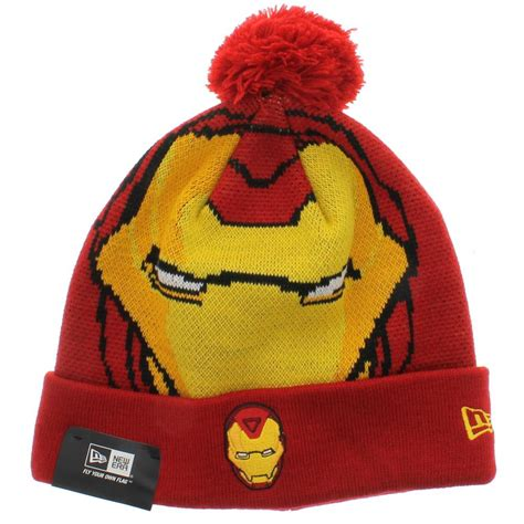 ta bay lightning knit hat ironman the woven biggie knit new era beanie with pom new