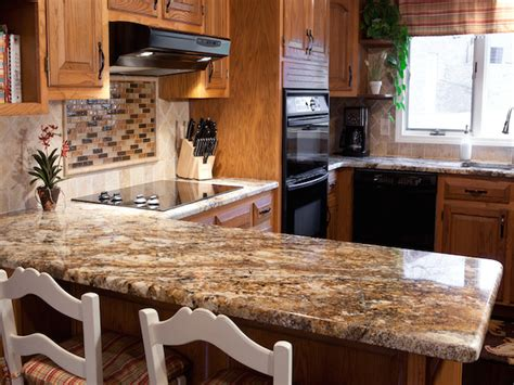 decorating ideas for kitchen countertops betularie granite countertop kitchen design ideas